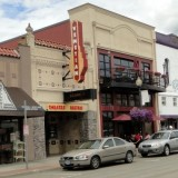Exterior of Venetian Theatre in Hillsboro, Oregon