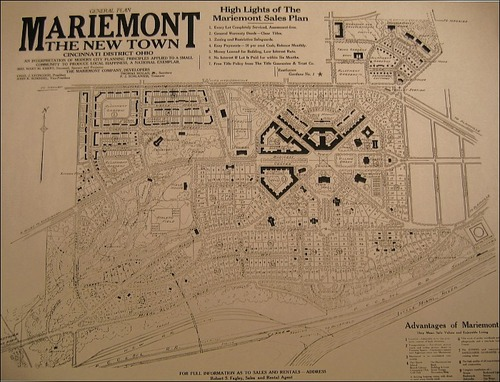 The Plan for Mariemont, Ohio.