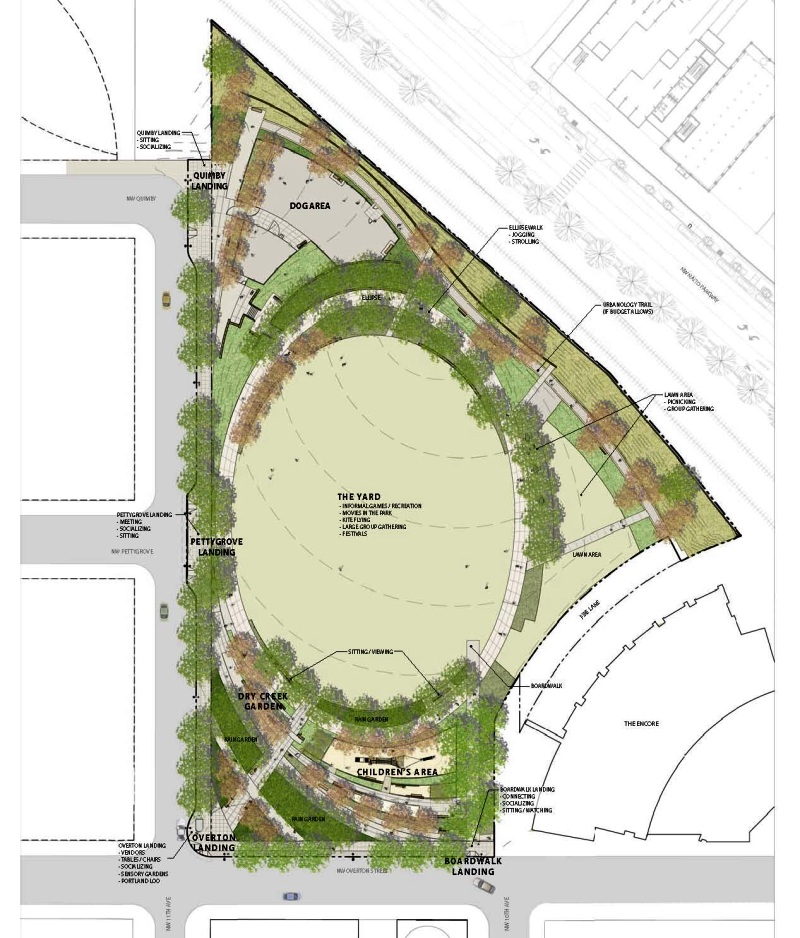 The Fields Park final drawings