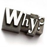 "illustration of the word ""Why?"""