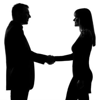 Treffen zwischen mann und frau