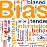 Word cloud for bias
