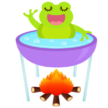 the planning process amp the parable of the boiled frog