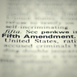 "the words ""Fifth Amendment"""