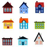 icons representing a mix of housing types