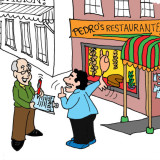 Pedro's Restaurante by Marc Hughes