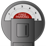illustration of a parking meter