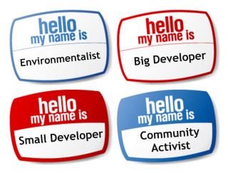 "Labels that say ""Hello My Name Is"""