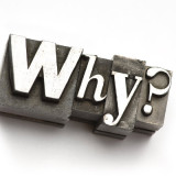 "graphic of the word ""why?"""