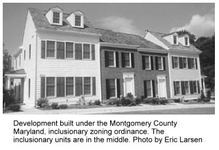 photo of inclusionary housing in Maryland