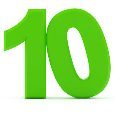 number-10-green - PlannersWeb