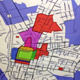 portion of map of Keystone Innovation district in Meadville, Pennsylvania