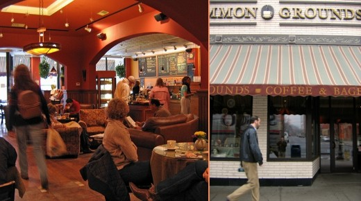 Uncommon Grounds Coffee House in Saratoga Springs, New York