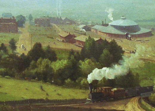 The Lackawanna Valley, a painting by George Inness