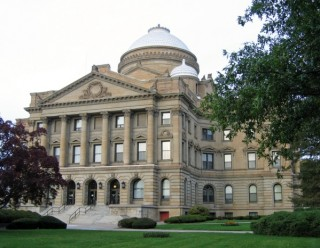 The Luzerne County Courthouse