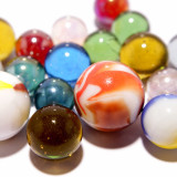 marbles of different sizes