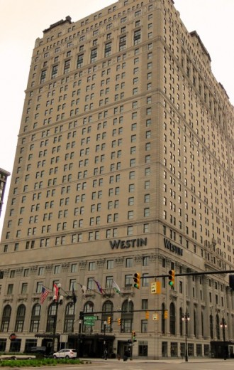 Book-Cadillac building in downtown Detroit