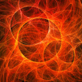 image of circles of fire