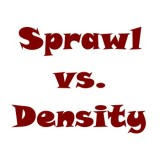 the word: Sprawl vs. Density