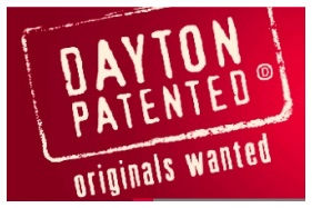 logo that says: Dayton Patented - Originals Wanted