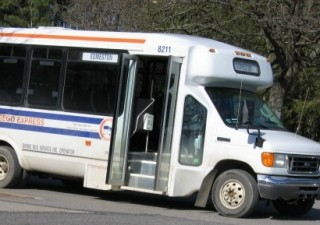 Bus used in Otsego County