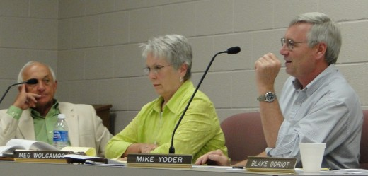 Members of Elkhart County Plan Commission