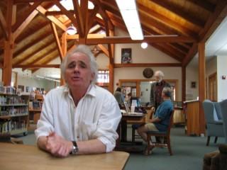 Stephen Coronella, librarian in Putney, Vermont