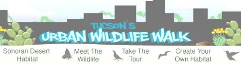 Tucson Urban Wildlife Walk logo