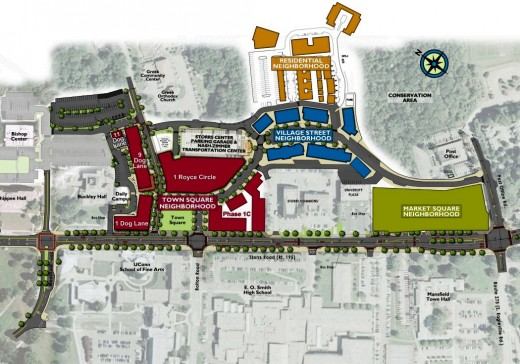 Storrs Center concept plan