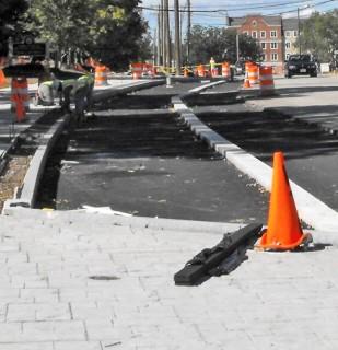 Sidewalk improvements along Storrs Road