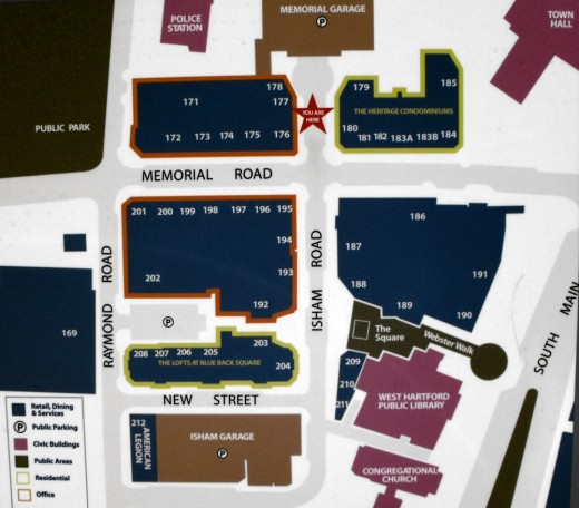 Map of Blue Back Square