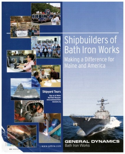 Bath Iron Works advertisement