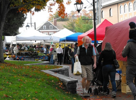 Farmers Market in Bath, Maine