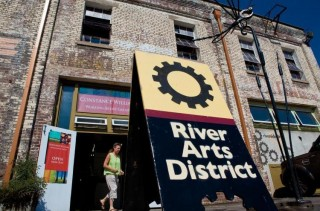 River Arts District in Asheville, North Carolina