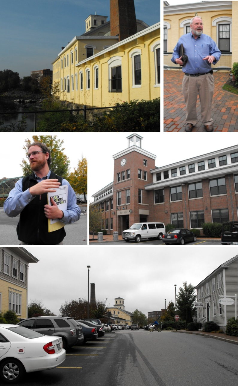 series of photos taken on Bowdoin Mill Island
