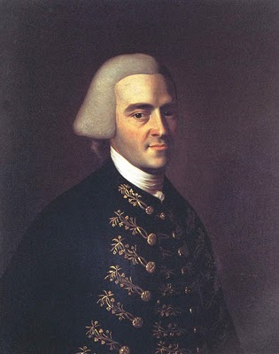 Portrait of John Hancock, 1770.