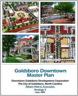 Cover of Goldsboro Downtown Plan