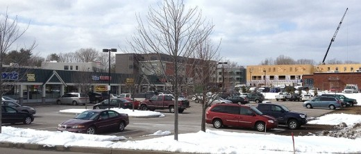 Ethan Allen Shopping Center in Burlington, Vermont