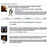 Worth a Look: Discussion on LinkedIn of Della Rucker's Last PlannersWeb Column