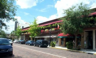 photo of Winter Park, Florida, main street