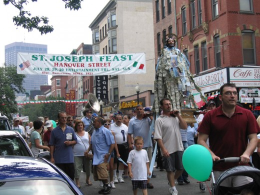 Feast of St. Joseph in Boston's North End
