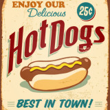 Hot Dogs sign