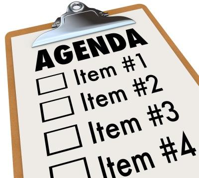 an agenda