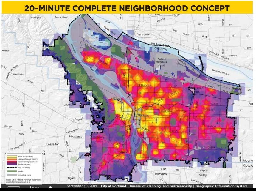 Distance, Destinations, Density - PlannersWeb