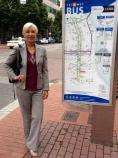 Nancy Hales, Director of First Stop Portland