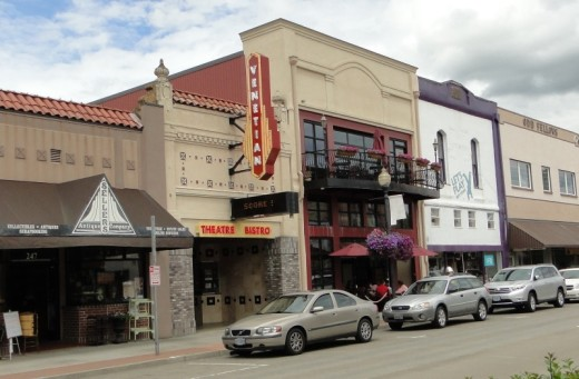 Venetian Theater in downtown Hillsboro.