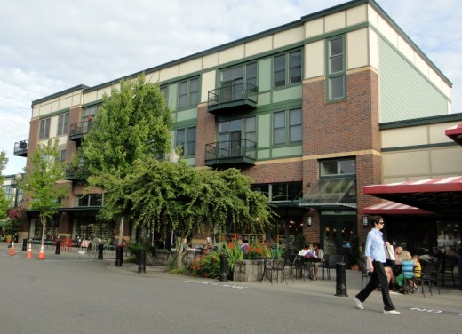 New Seasons Market is part of Orenco's Town Center.