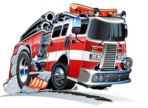 how wide should a neighborhood street be  part 2 plannersweb fire truck clipart images fire truck clip art to color