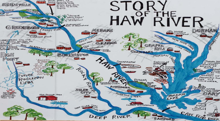 Haw River Nc Map.Cultural Tourism In The Triangle Part 2 Plannersweb