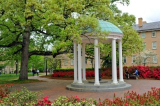 Old well on the University of North Carolina, Chapel Hill, campus. Photo by Dan Sears.